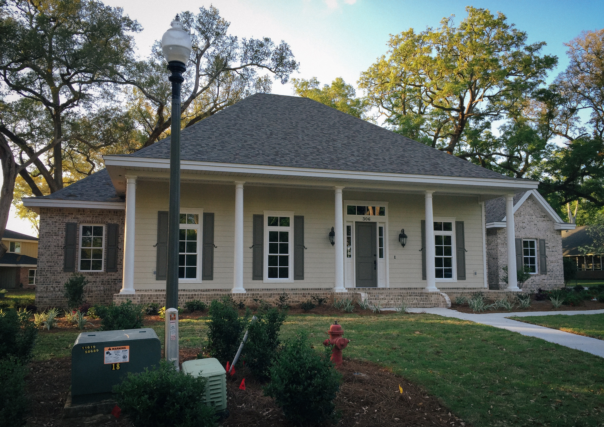 Bob Price Custom Home in Cantonment